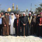 اكاديمية البلاغي تشارك في اللقاء الرابع لنخب القيادات الدينية العراقية